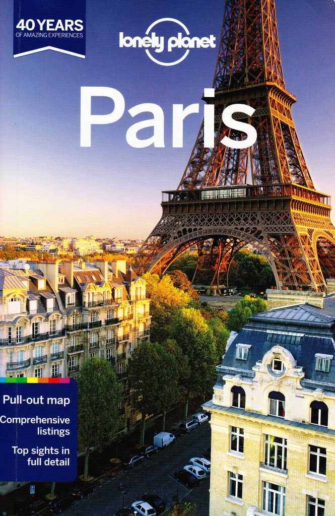 Lonely Planet Paris-cover