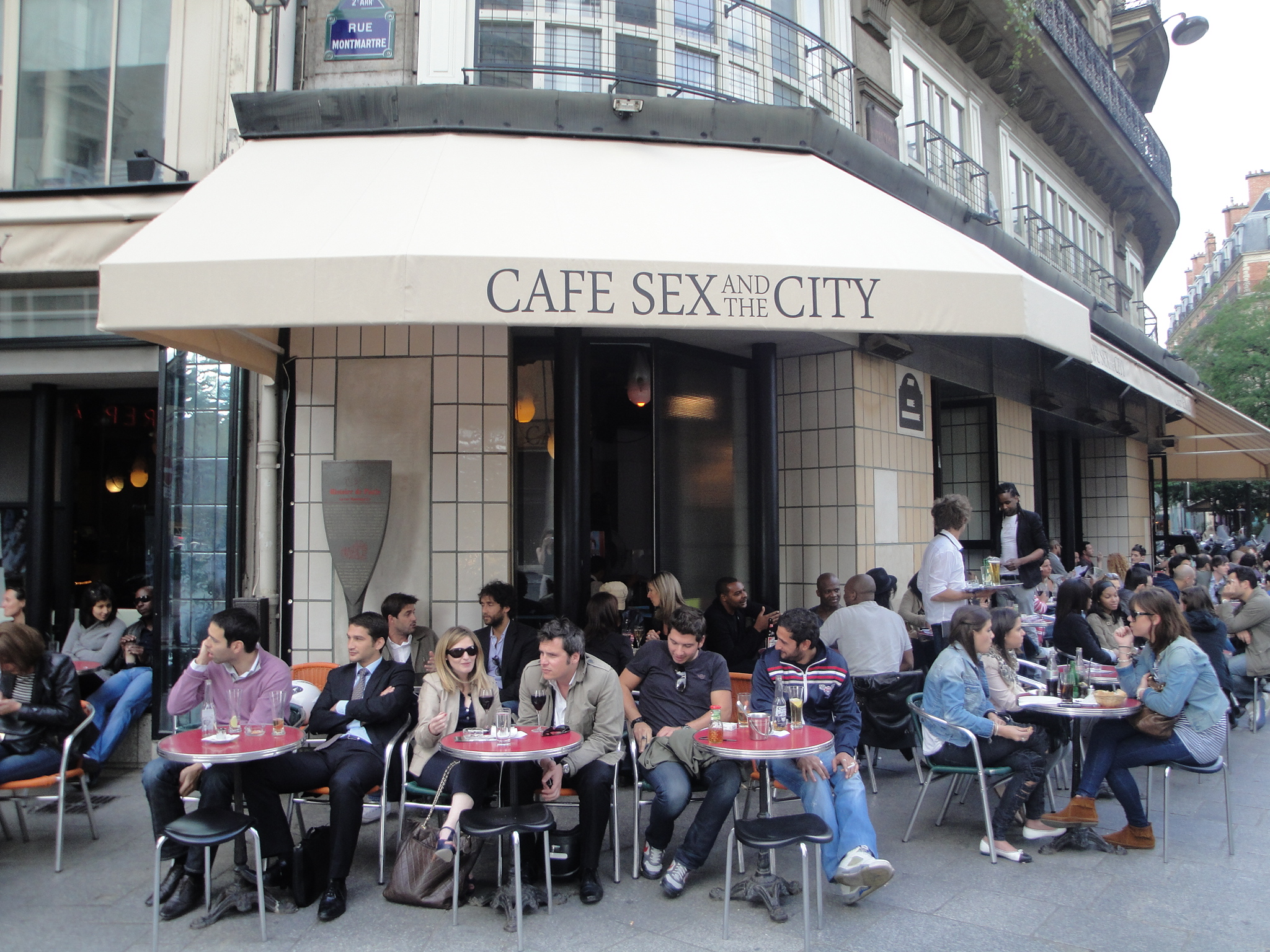 Sex and the city coffee shop