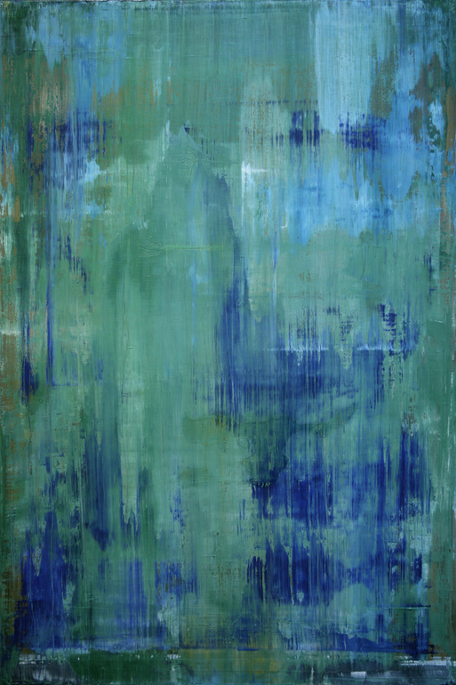 abstract N 632 [emerald green] by Koen Lybaert