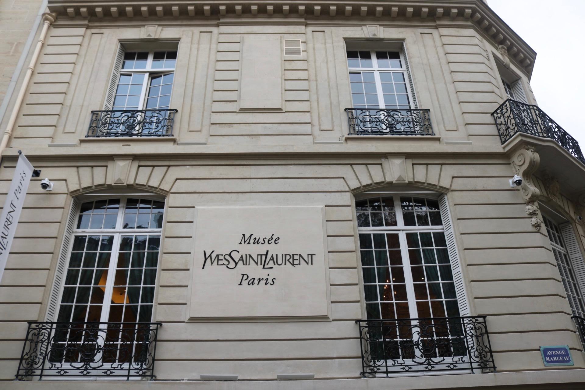 Yves Saint Laurent Museum Paris-Kasia Dietz - Love in the City of Light